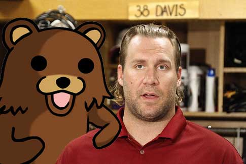 Ben Rapistberger finds a friend with Pedobear